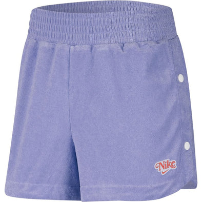 WMNS NIKE SPORTSWEAR SHORTS - LIGHT THISTLE