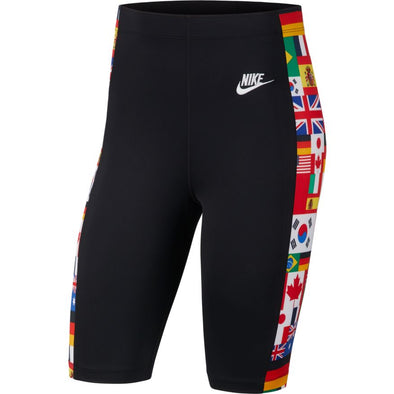 WMNS NIKE SPORTSWEAR BIKE SHORTS - BLACK