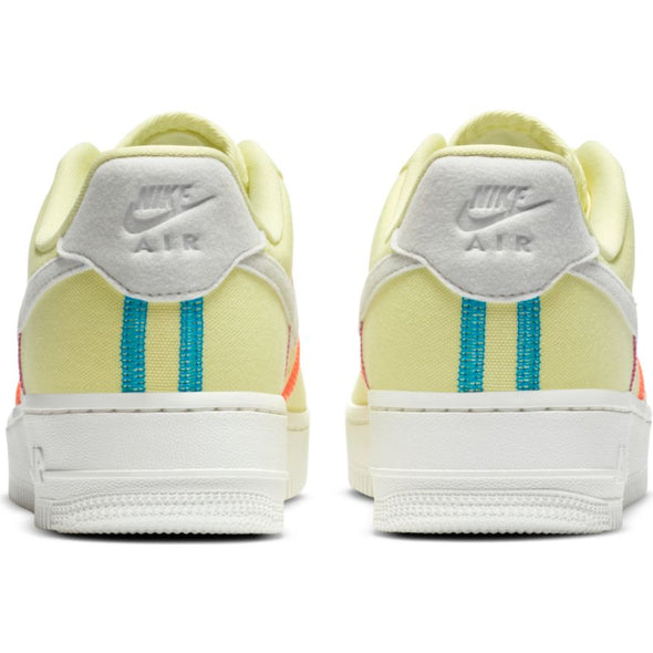 WMNS NIKE AIR FORCE 1 '07 LX LIFE LIME/PHOTON DUST-LASER BLUE