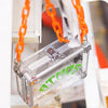 ATMOS HALLOWEEN x VAINGLORY POCKET BOX - Clear / (Orange Chain)