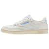 WOMEN'S REEBOK CLASSICS CLUB C 85 -  Vintage-Chalk / Paper Wht / Athletic Blue / Exc Red