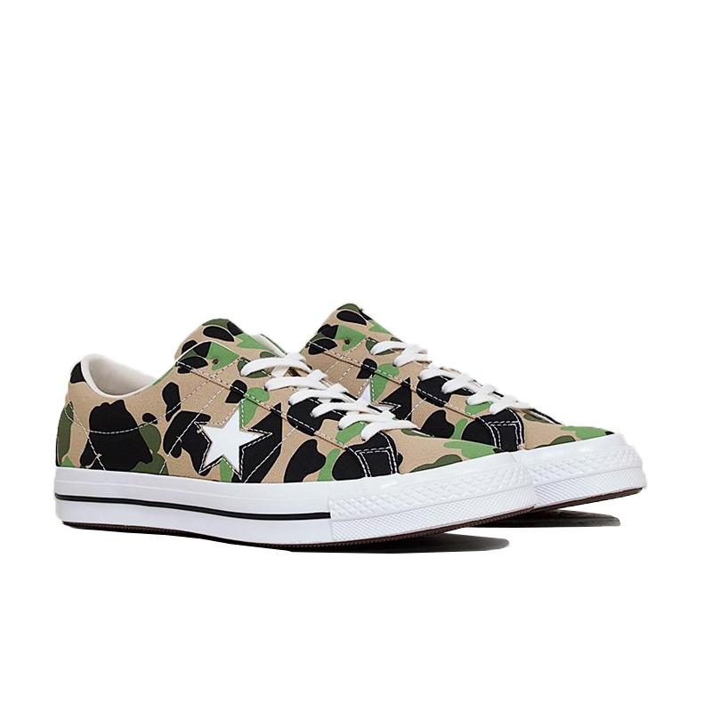 CONVERSE ONE STAR OX - CANDIED GINGER/PIQUANT GREEN