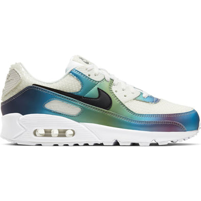 MEN'S NIKE AIR MAX 90 20 - SUMMIT WHITE/BLACK-MULTI-COLOR-WHITE