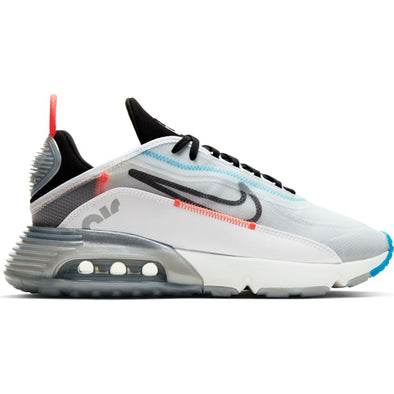 MEN'S NIKE AIR MAX 2090 - WHITE/BLACK-PURE PLATINUM-BRIGHT CRIMSON