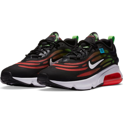 MEN'S NIKE AIR MAX EXOSENSE - BLACK/WHITE-FLASH CRIMSON-GREEN STRIKE