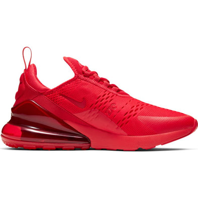MEN'S NIKE AIR MAX 270 - UNIVERSITY RED/UNIVERSITY RED-BLACK