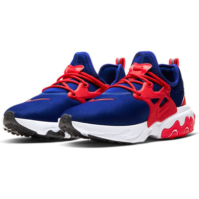 MEN'S NIKE REACT PRESTO DEEP ROYAL/UNIVERSITY RED-WHIT