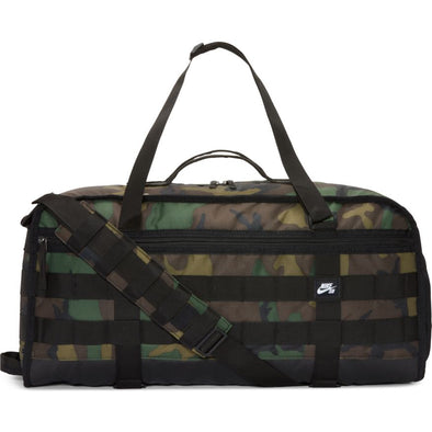 NIKE SB RPM SKATE TRAVEL DUFFLE BAG -  BLACK/BLACK/WHITE