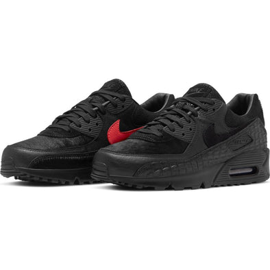 NIKE AIR MAX 90 QS  - BLACK/BLACK-INFRARED-WHITE
