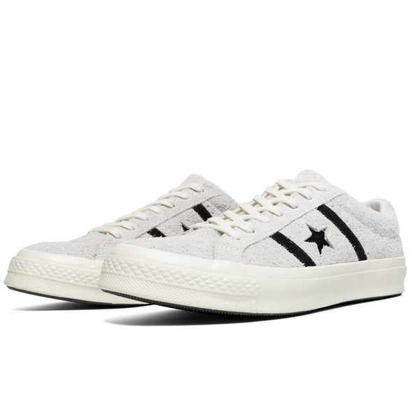CONVERSE ONE STAR ACADEMY OX - EGRET/BLACK/EGRET