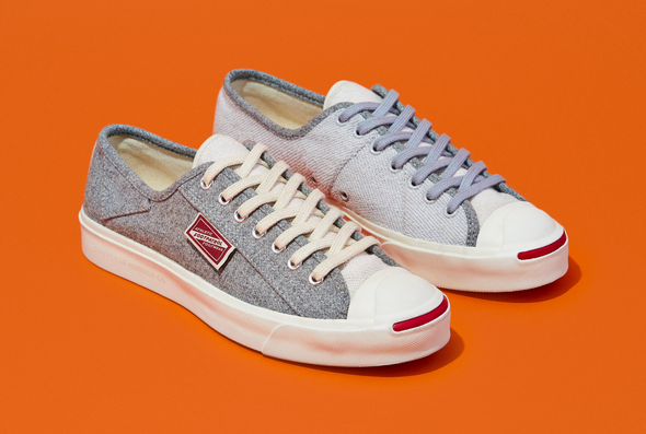 FOOTPATROL x CONVERSE JACK PURCELL OX - Blue / Steel Frey / Egret