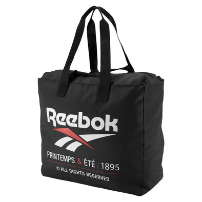 REEBOK CLASSICS PRINTEMPS AND ÉTÉ TOTE BAG - Black
