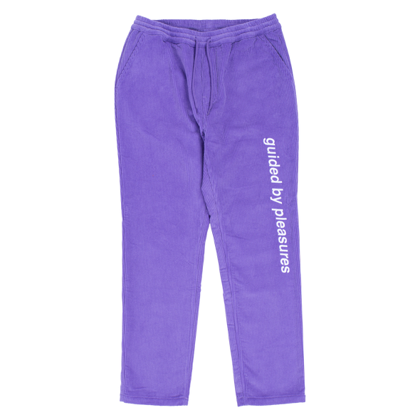 GUIDED CORDUROY PANT / PURPLE