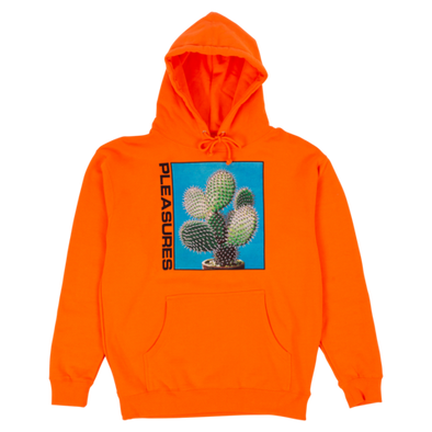 SPIKE HOODY / SAFETY ORANGE