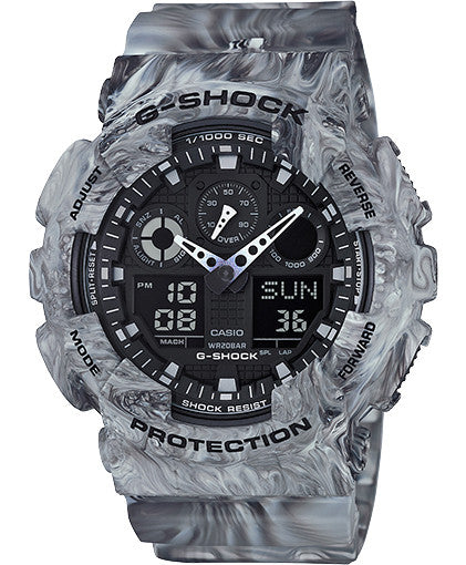 G Shock GA100MM-8A - Marble Series