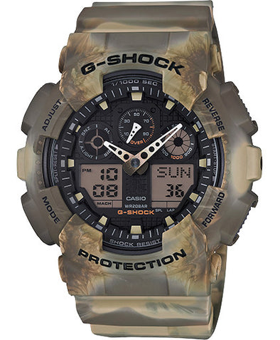 G Shock GA-100MM - Marble Series