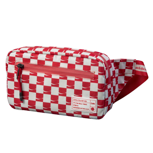 HEX X COCA-COLA WAIST PACK - Red / White