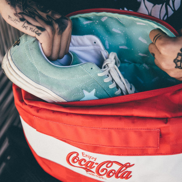 HEX x COCA-COLA SNEAKER SLING - Red