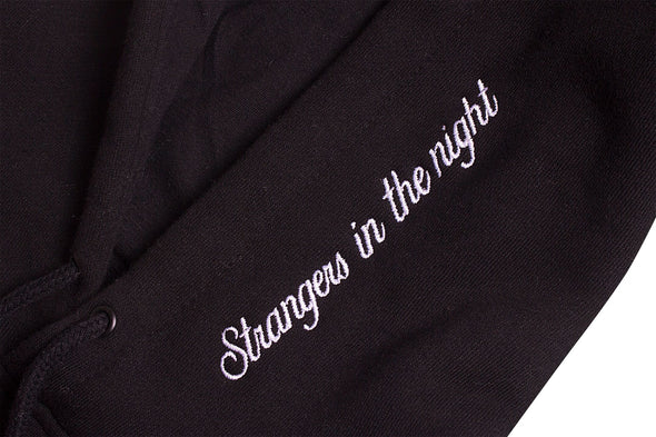 AFTER MIDNIGHT STRANGERS IN THE NIGHT PULLOVER - Black