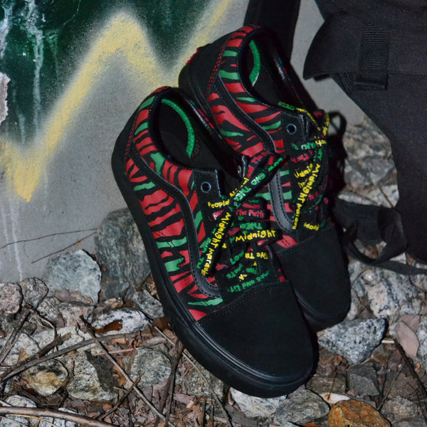 VANS x A TRIBE CALLED QUEST OLD SKOOL - BLACK/RED/GREEN