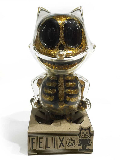 SECRET BASE FELIX THE CAT X-RAY - GOLD RAME