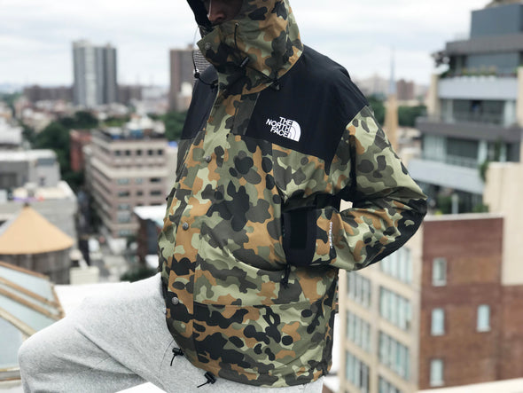 THE NORTH FACE M 1990 MOUNTAIN JKT GTX-NEW TAUPE GREEN CAMO