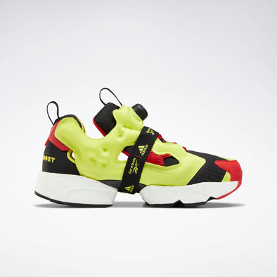 Reebok x Adidas INSTANT PUMP FURY - BLACK / HYPERGREEN / RBK RED