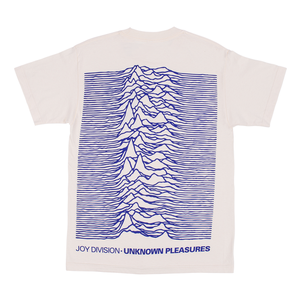 PLEASURES x JOY DIVISION UP T-SHIRT - White / Blue