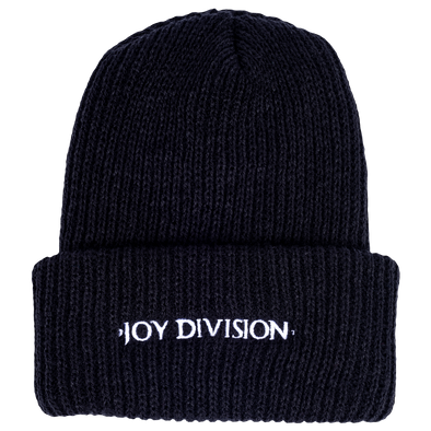 PLEASURES x JOY DIVISION BEANIE - Black / White