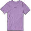 AFTER MIDNIGHT DESPAIRS S/S TEE - LAVENDER/WHITE