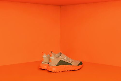 PUMA TSUGI x ATELIER NEW REGIME - Olive / Orange