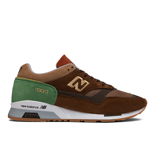 NEW BALANCE 1500 Made in UK - Brown with Green