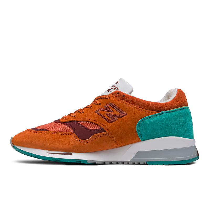 sports shoes 3513d 3a1e7 NEW BALANCE 1500 Made in UK - Orange Popsicle with Porcelain Green