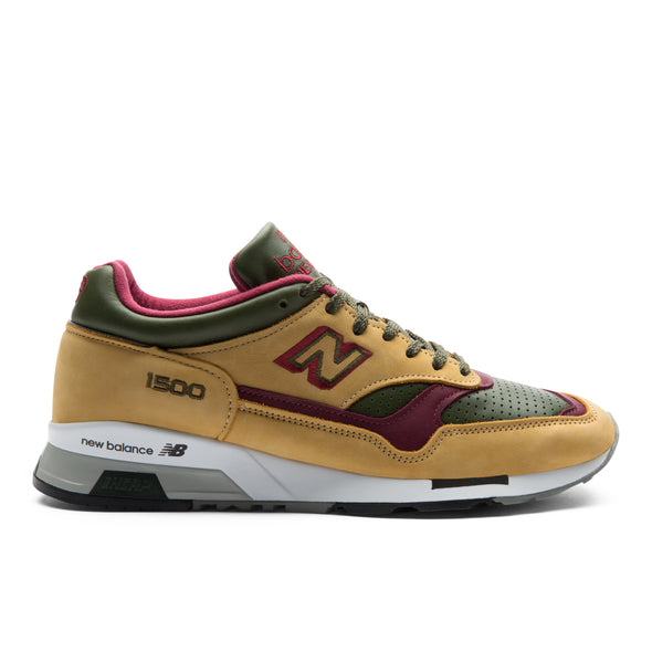 NEW BALANCE 1500 MADE IN UK - Yellow / Red / Green