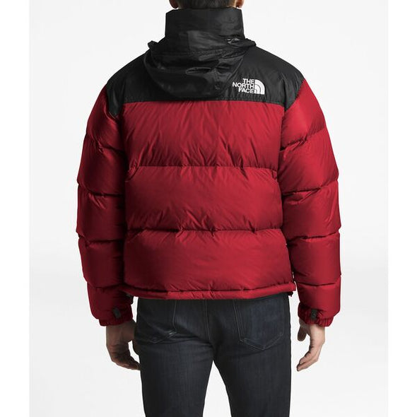 THE NORTH FACE MEN'S 1996 RETRO NUPTSE JACKET - RED / BLACK