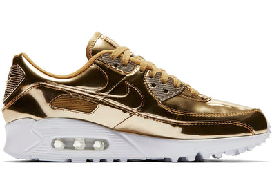 WMNS NIKE AIR MAX 90 SP - METALLIC GOLD/METALLIC GOLD-CLUB GOLD