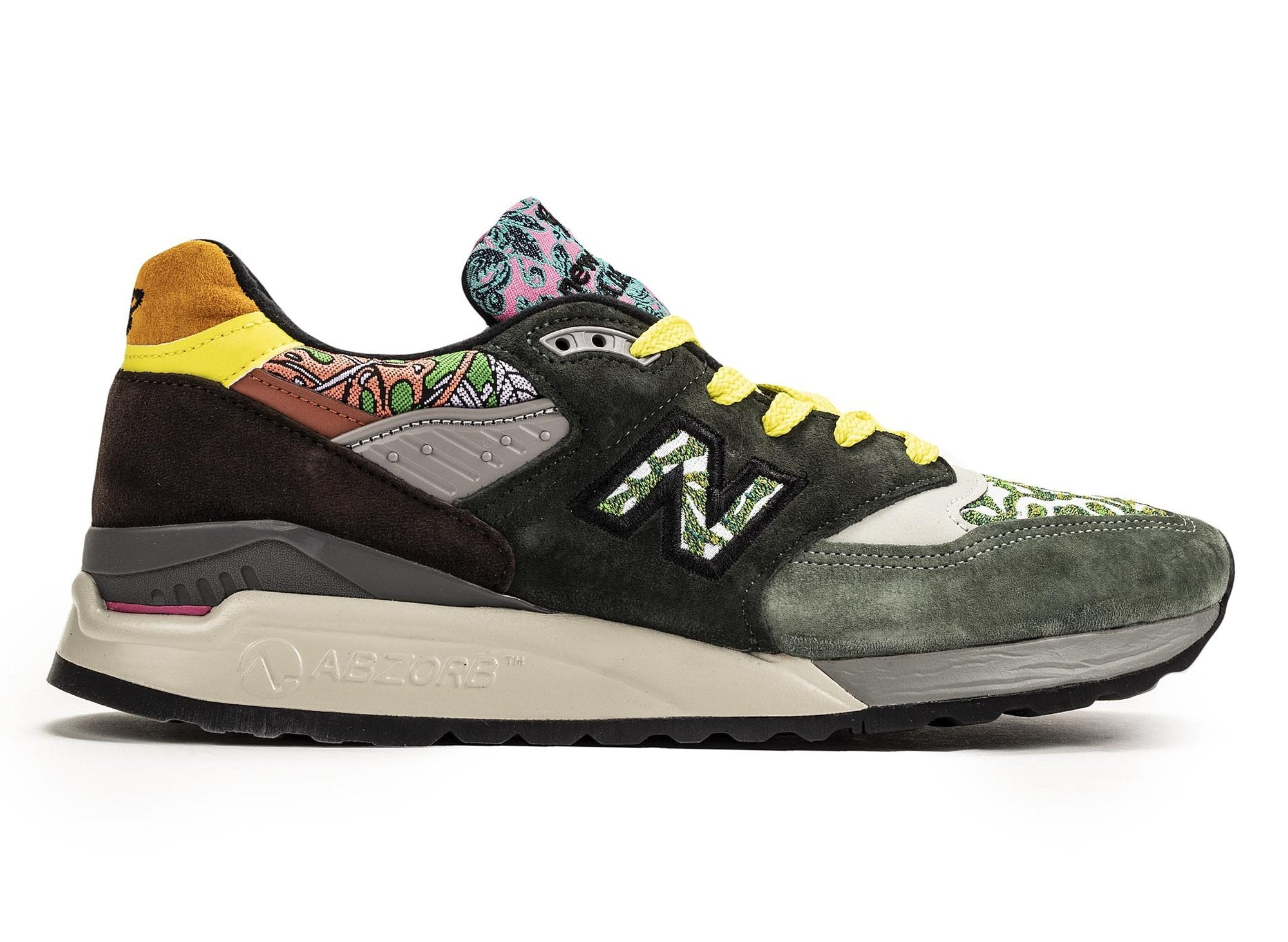 innovative design acaf9 dfe5c NEW BALANCE 998 Made in USA - Multicolor