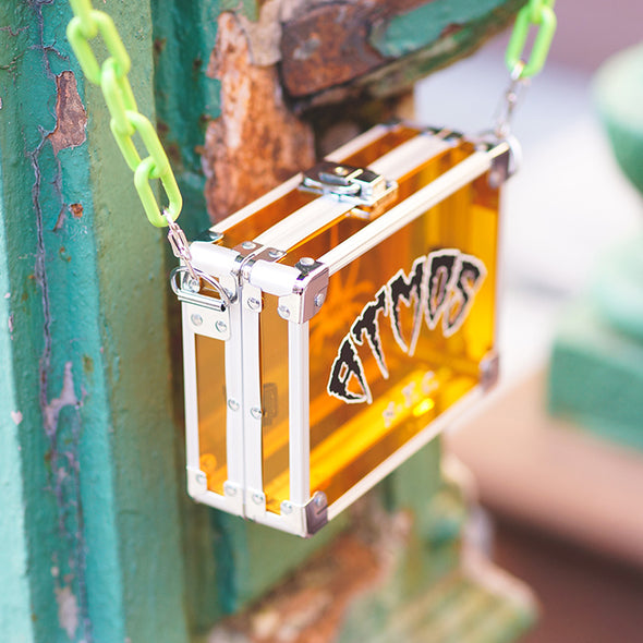 ATMOS HALLOWEEN x VAINGLORY POCKET BOX - Orange / (Green Chain)