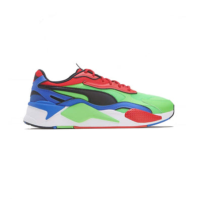 PUMA RS-X3 TAILORED - FLUO GREEEN-BLACK-DAZZ BLUE