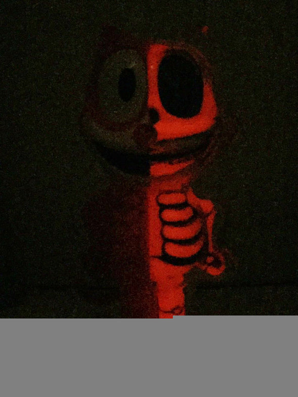SECRET BASE FELIX THE CAT X-RAY FULL COLOR RED G.I.D