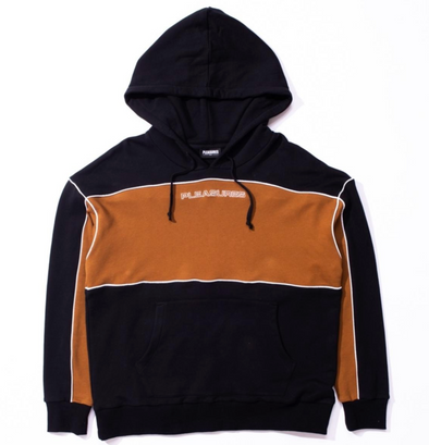 PLEASURES MOTO HOODY - Black