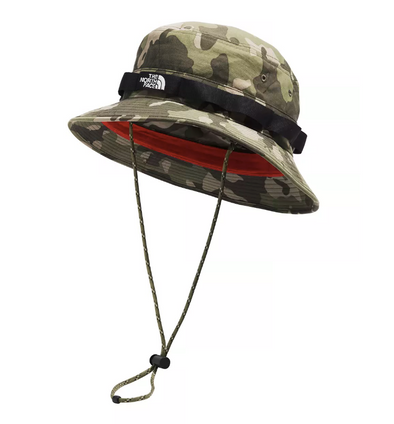 TNF CLASS V BRIMMER BUCKET HAT - BURNT OLIVE GREEN PONDEROSA PINE PRINT