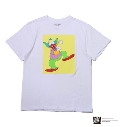 THE SIMPSONS x ATMOS LAB KRUSTY TEE - White