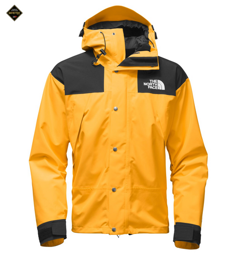 THE NORTH FACE MEN'S TELEGRAPH WIND JACKET - Urban Navy/Raspberry Red/TNF Yellow