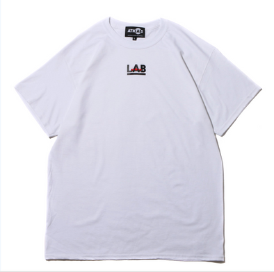 ATMOS LAB ROSE EMBROIDERY TEE - White