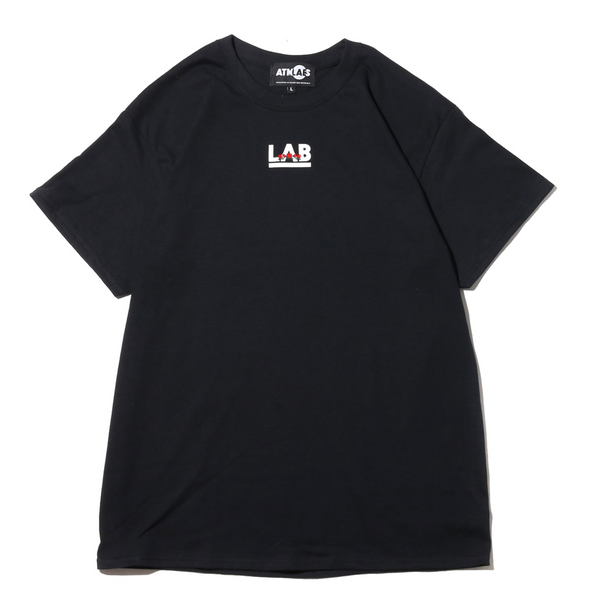 ATMOS LAB ROSE EMBROIDERY TEE - Black