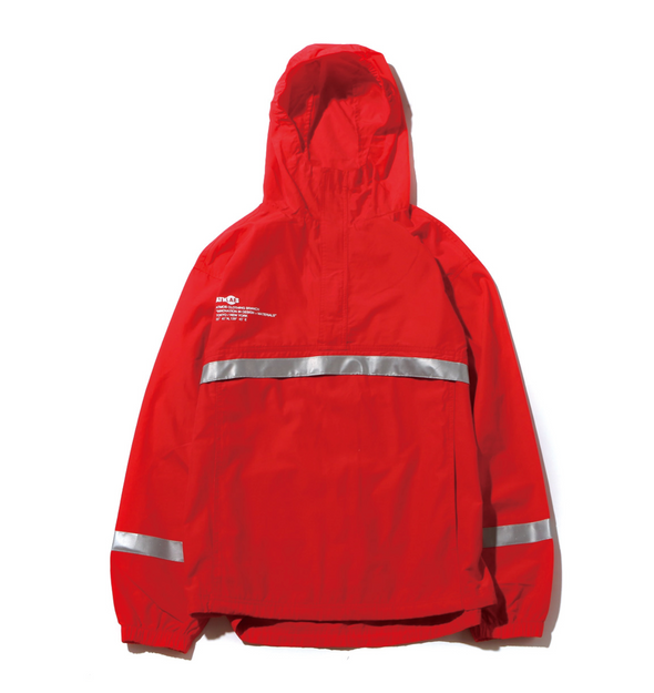 ATMOS LAB REFLECTIVE C/N ANORAK - Red