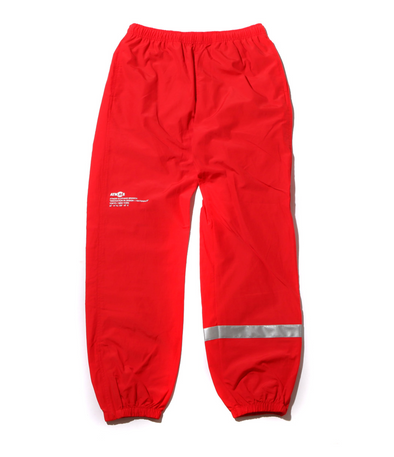 ATMOS LAB REFLECTIVE C / N TRACK PANTS - Red