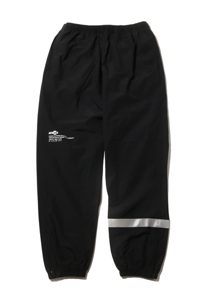 ATMOS LAB REFLECTIVE C / N TRACK PANTS - Black