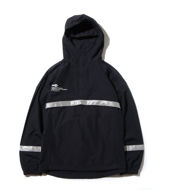 ATMOS LAB REFLECTIVE C/N ANORAK - Navy